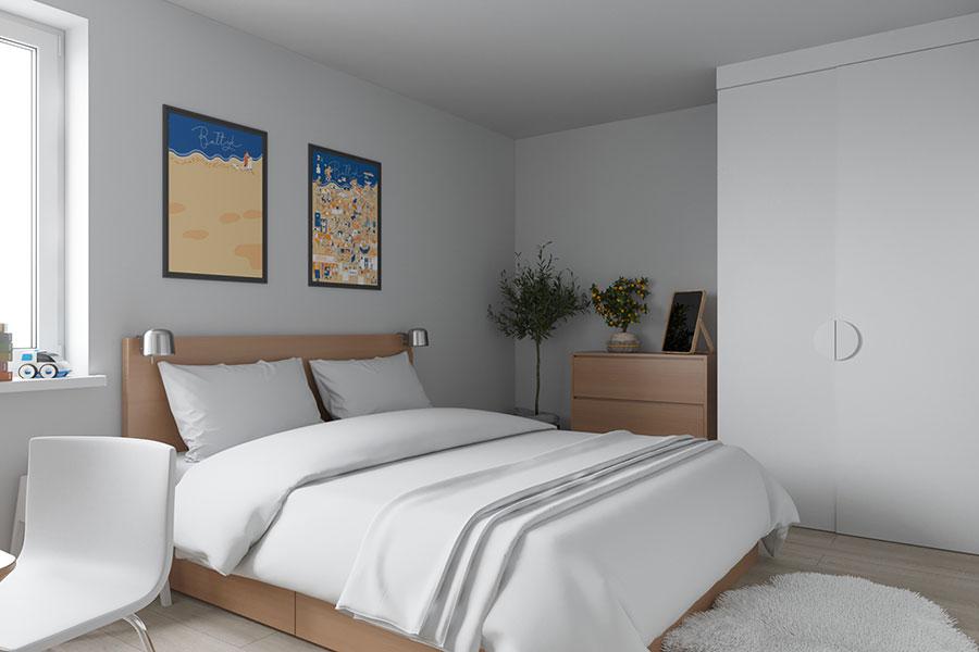 Idee per arredare una casa piccola con Ikea n.18