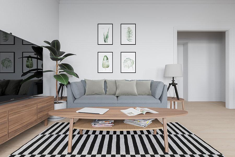 Idee per arredare una casa piccola con Ikea n.23