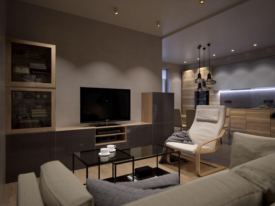 Idee per arredare una casa piccola con Ikea n.27