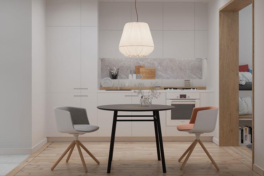Idee per arredare una casa piccola in stile scandinavo n.02