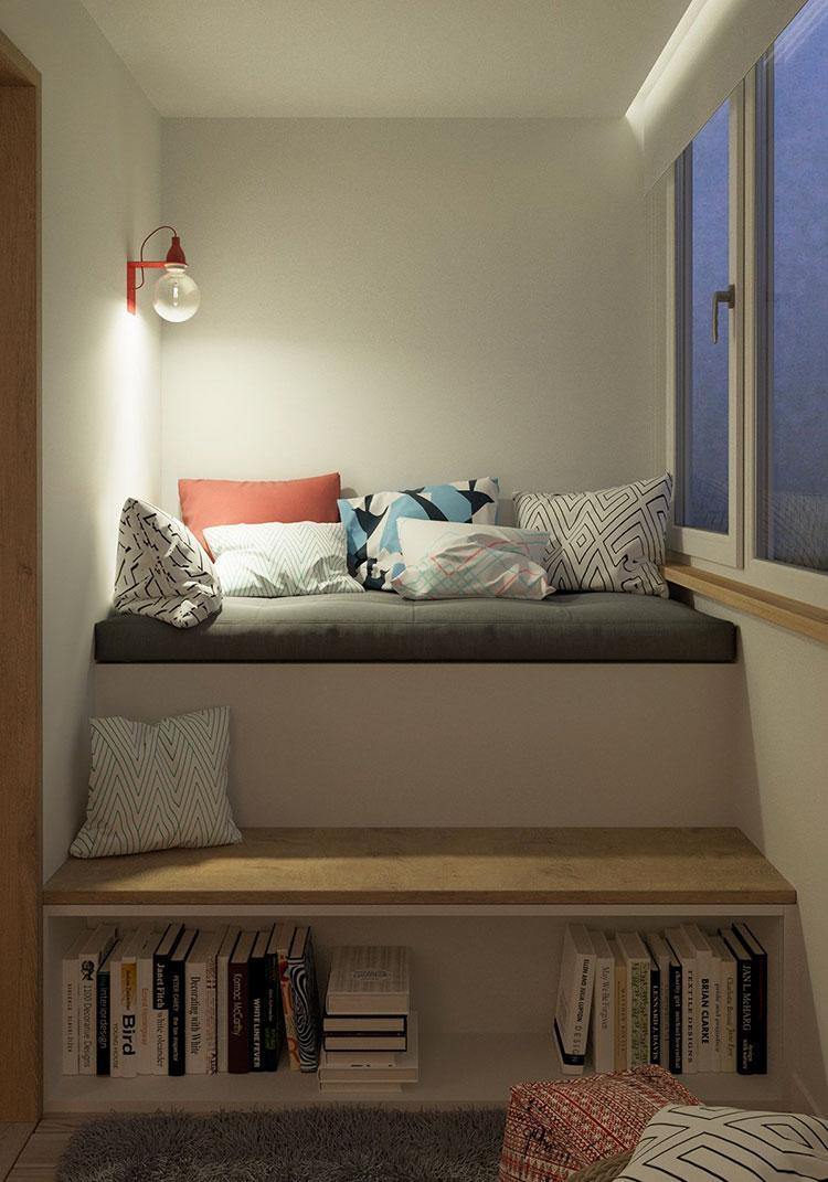 Idee per arredare una casa piccola in stile scandinavo n.04