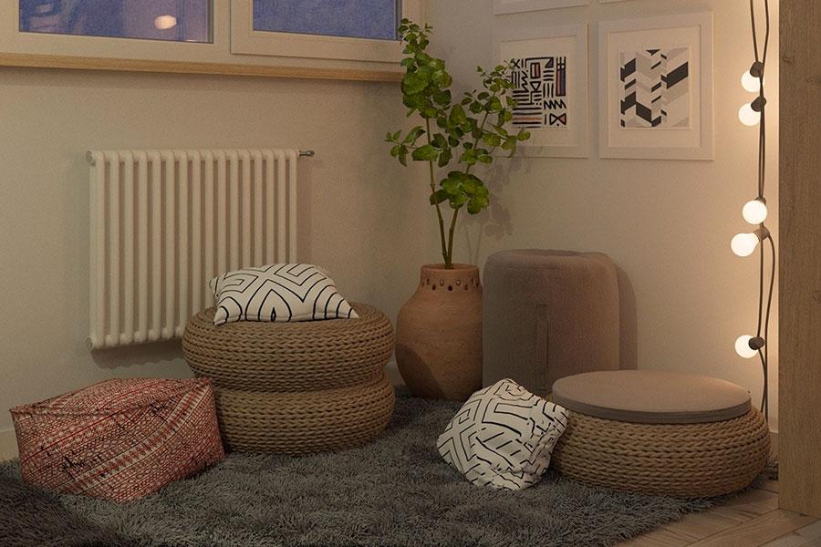Idee per arredare una casa piccola in stile scandinavo n.05