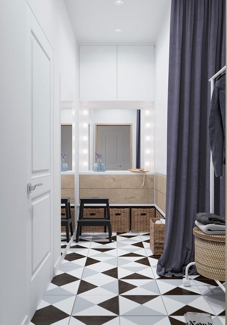 Idee per arredare una casa piccola in stile scandinavo n.06