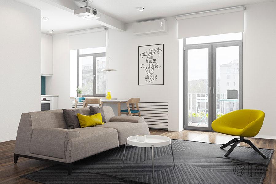 Tante idee per arredare una casa piccola in stile for Case classiche arredate