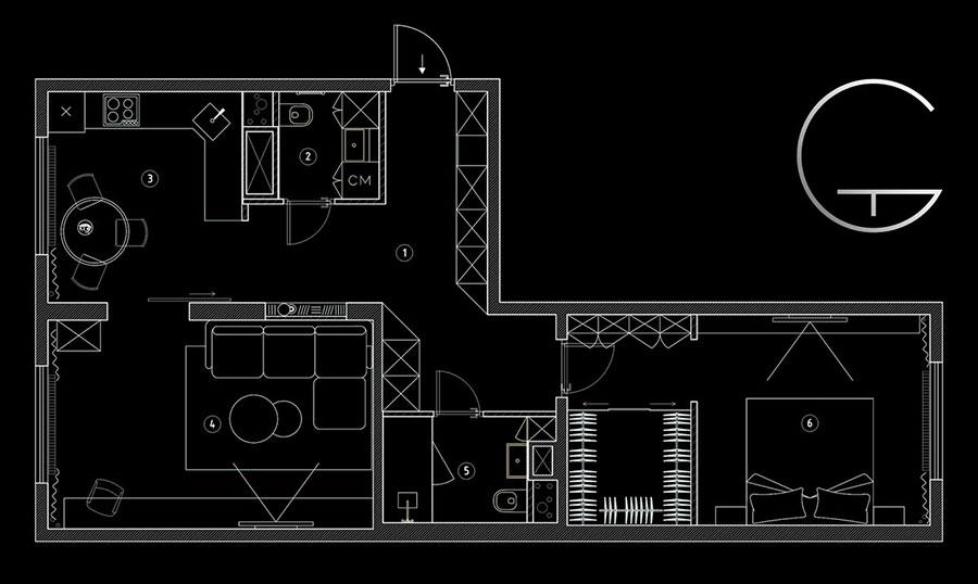 Idee per arredare una casa piccola in stile scandinavo n.16