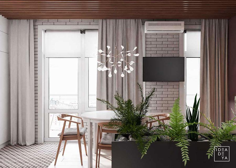 Idee per arredare una casa piccola in stile scandinavo n.27