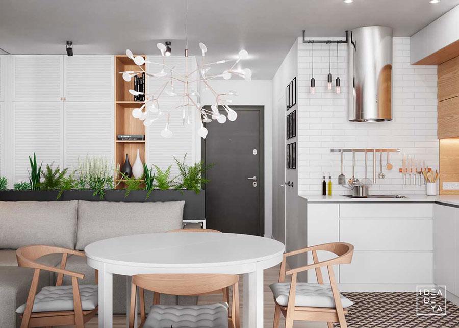 Idee per arredare una casa piccola in stile scandinavo n.28