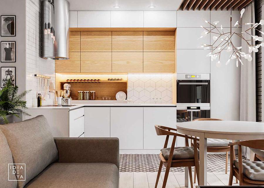 Idee per arredare una casa piccola in stile scandinavo n.30