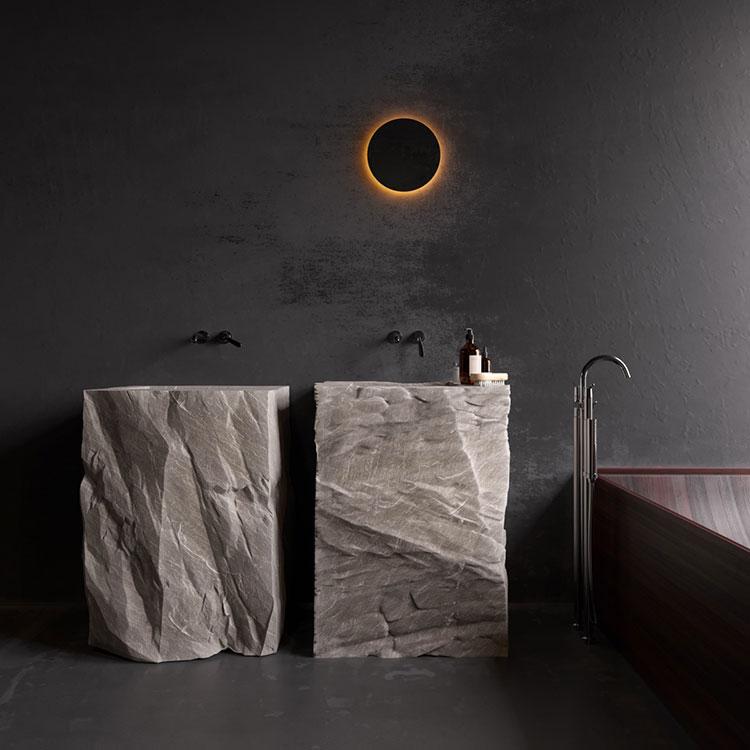 35 foto di bagni con doppio lavabo dal design elegante e - Doppio lavello bagno ...