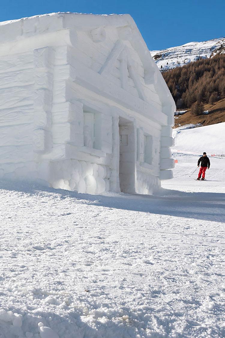 Esterno Chalet di neve Hotel Lac Salin Livigno 2