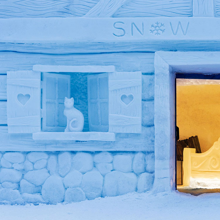 Esterno Chalet di neve Hotel Lac Salin Livigno 3