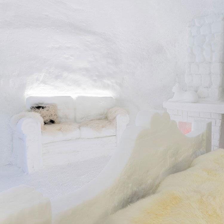 Interno Chalet di neve Hotel Lac Salin Livigno 3
