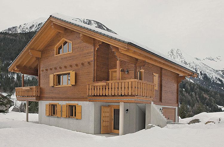 Casa prefabbricata in legno di Casedani