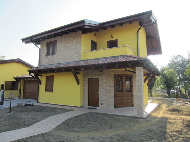 Casa prefabbricata in legno di Eco Bio Haus