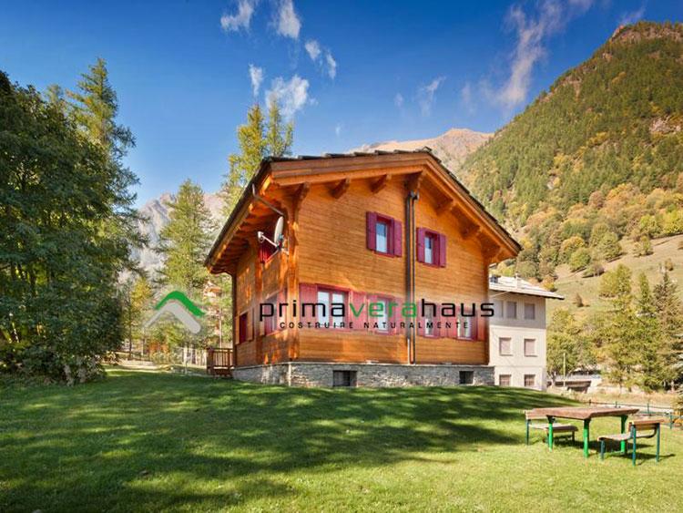 Casa prefabbricata in legno di Primavera Haus