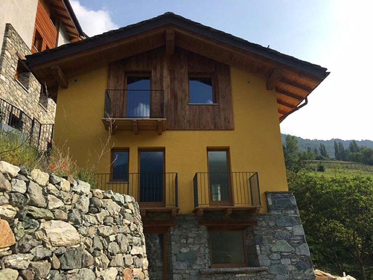 Progetto di casa in legno Edileco
