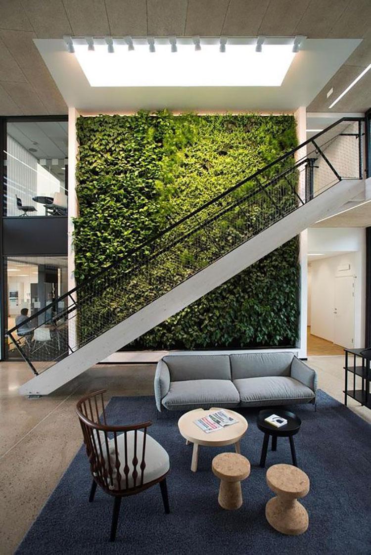 Foto di giardino verticale per interno n.04
