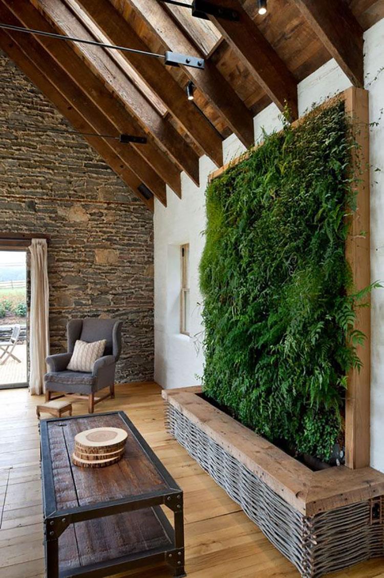 Foto di giardino verticale per interno n.05