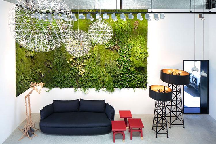 Foto di giardino verticale per interno n.10