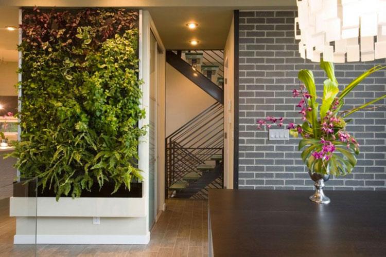 Foto di giardino verticale per interno n.14