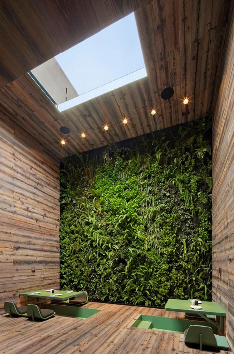 Foto di giardino verticale per interno n.19