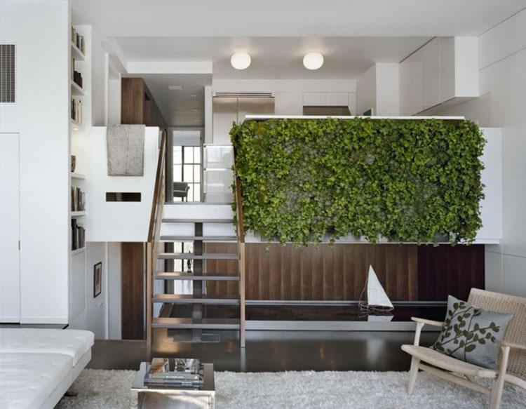 Foto di giardino verticale per interno n.22