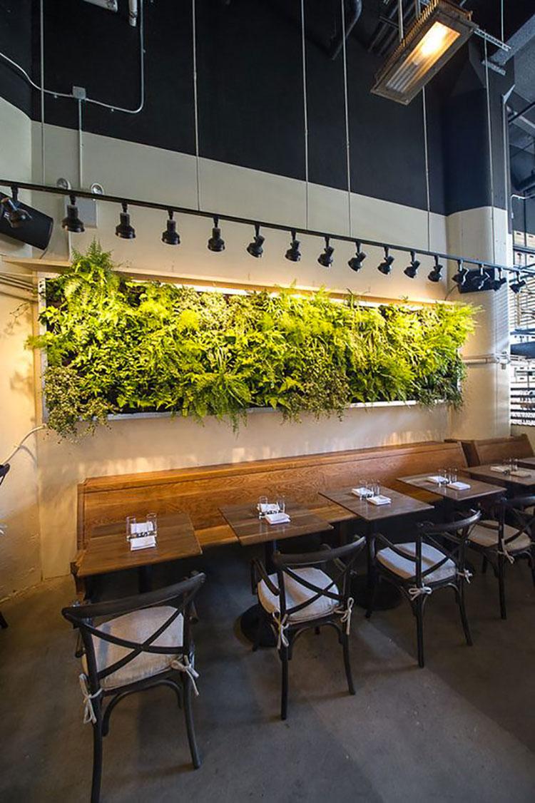 Giardino verticale interno 25 idee per pareti verdi in for Siti di interior design