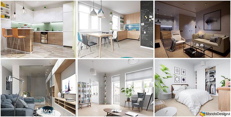 Arredare una casa piccola ikea tante idee e progetti originali - Aiuto per arredare casa ...
