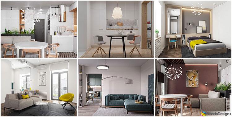 Tante idee per arredare una casa piccola in stile for Arredare piccoli appartamenti