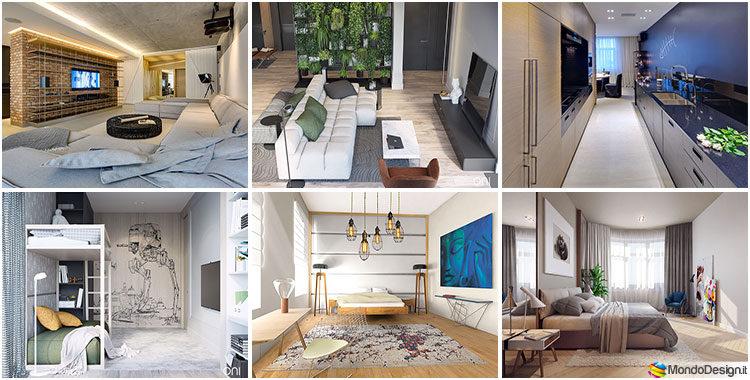 Come arredare una casa di 120 mq ecco 7 progetti for Progetti case moderne interni
