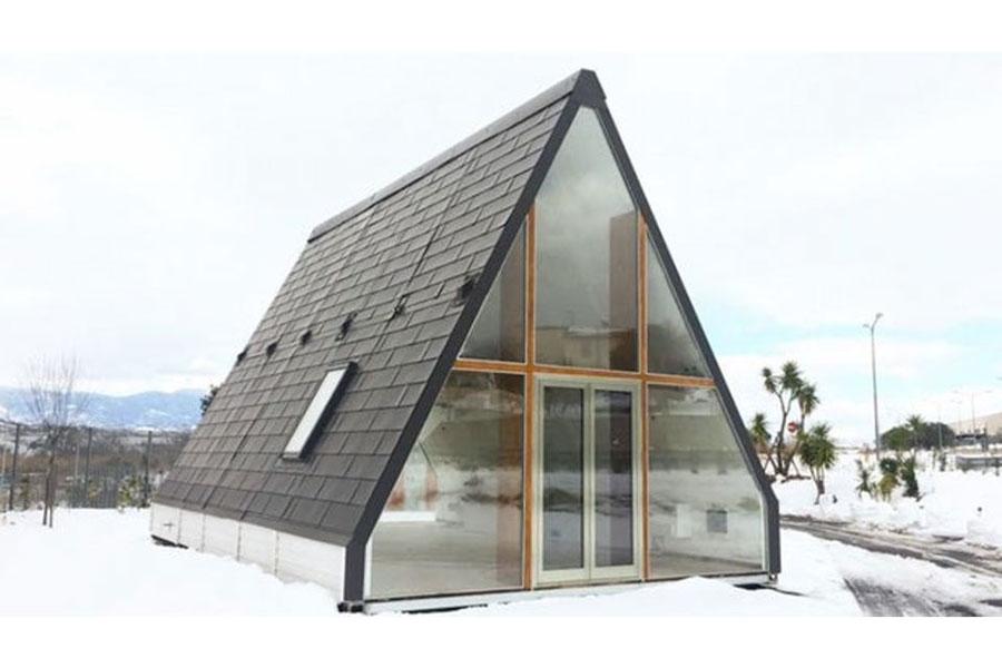 Madi casa pieghevole moduli abitativi prefabbricati a for Nuovi costi di costruzione casa