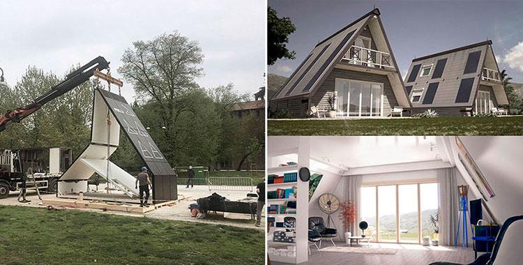 Madi casa pieghevole moduli abitativi prefabbricati a costi ridotti - Madi casa pieghevole ...