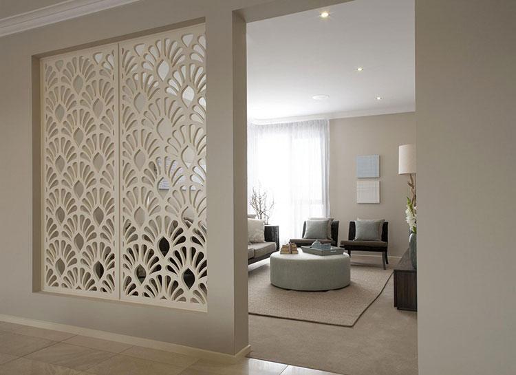 Idee per pareti divisorie in legno n.05