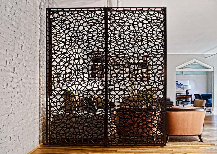 Idee per pareti divisorie in legno n.06