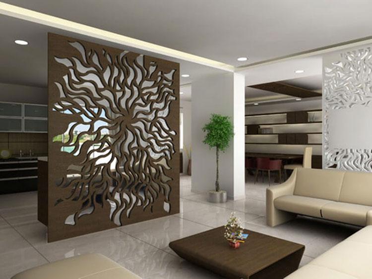 Idee per pareti divisorie in legno n.10