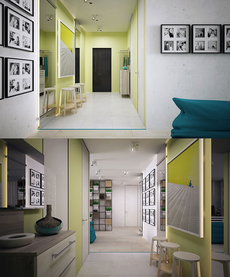 Progetto per una casa di 130 mq n.09