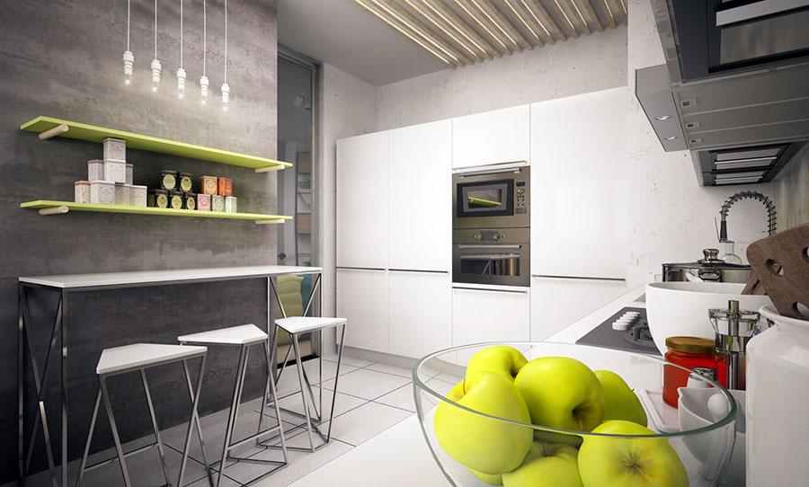 Progetto per una casa di 130 mq n.12