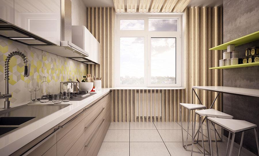 Progetto per una casa di 130 mq n.13