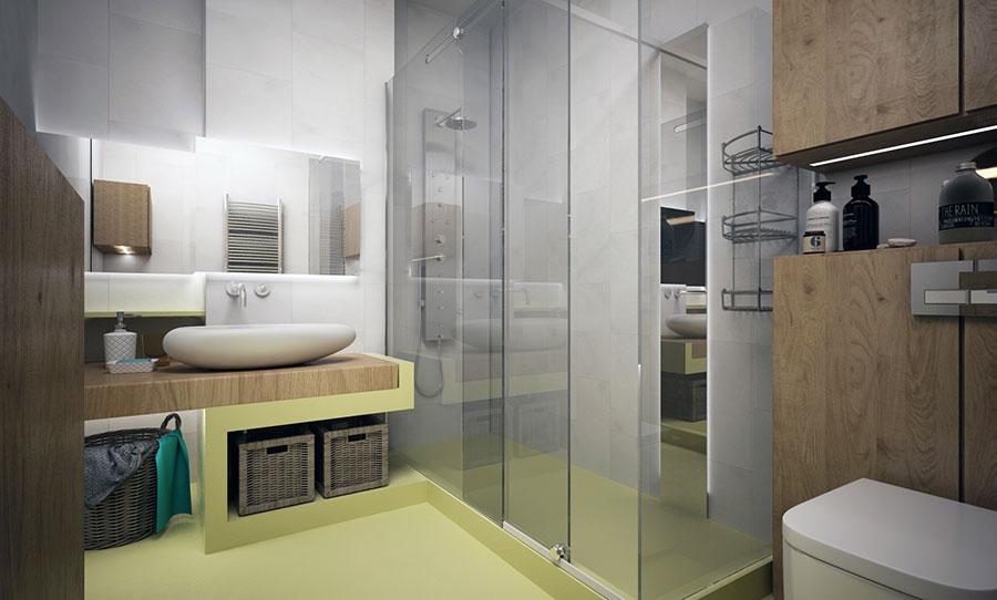 Progetto per una casa di 130 mq n.17