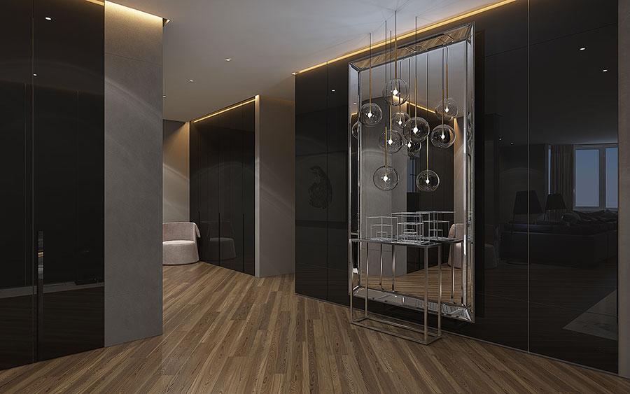 Progetto per una casa di 130 mq n.19