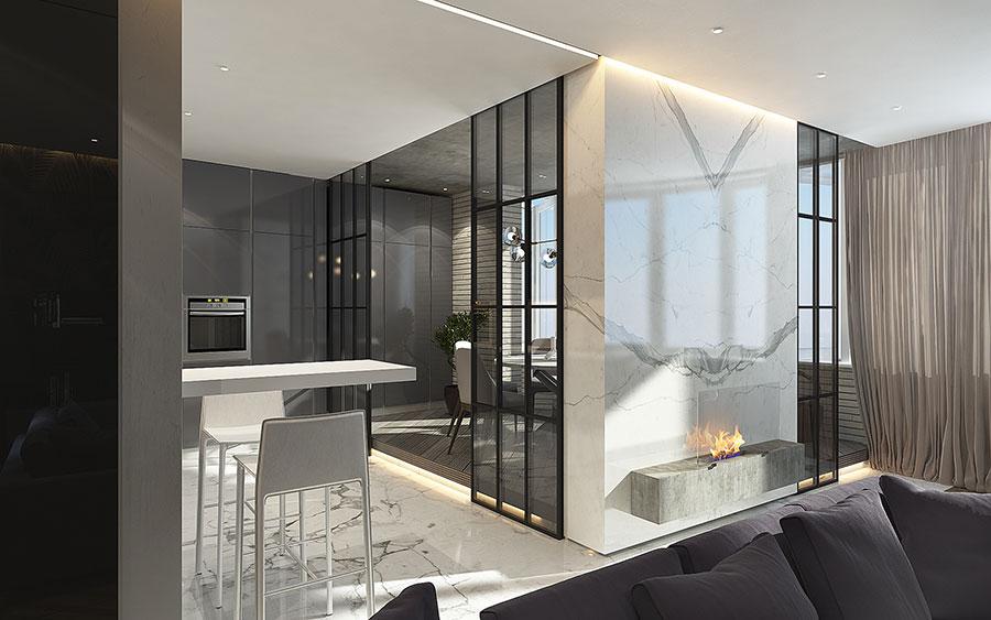 Progetto per una casa di 130 mq n.20