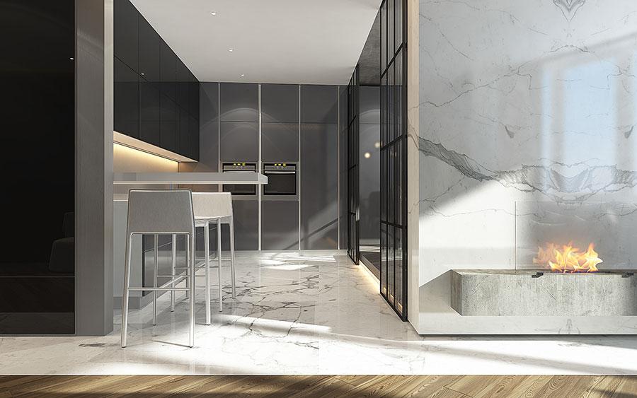 Progetto per una casa di 130 mq n.21