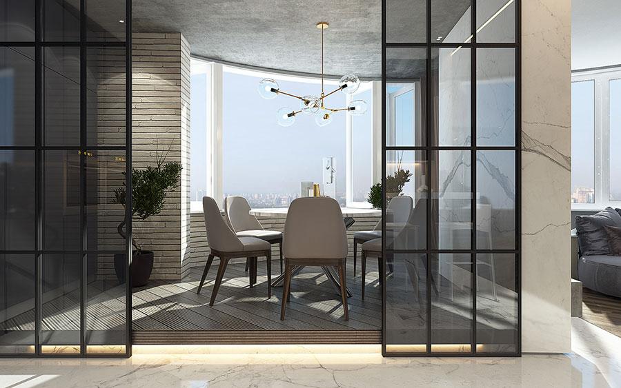Progetto per una casa di 130 mq n.22