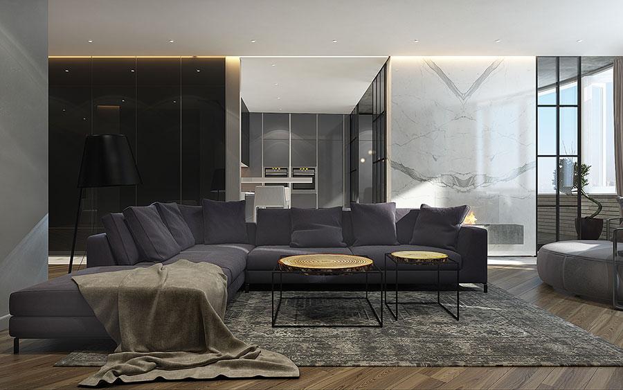 Progetto per una casa di 130 mq n.23