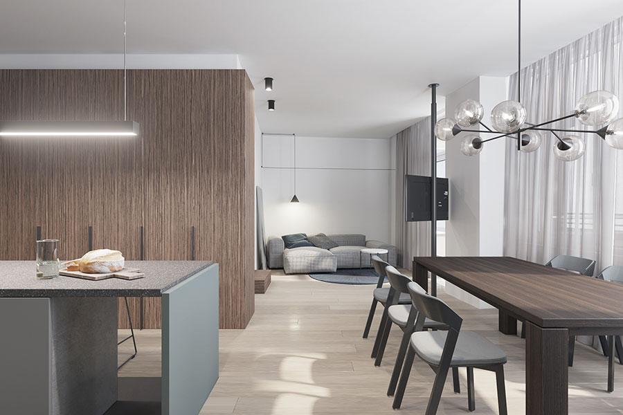 Progetto per una casa di 130 mq n.28