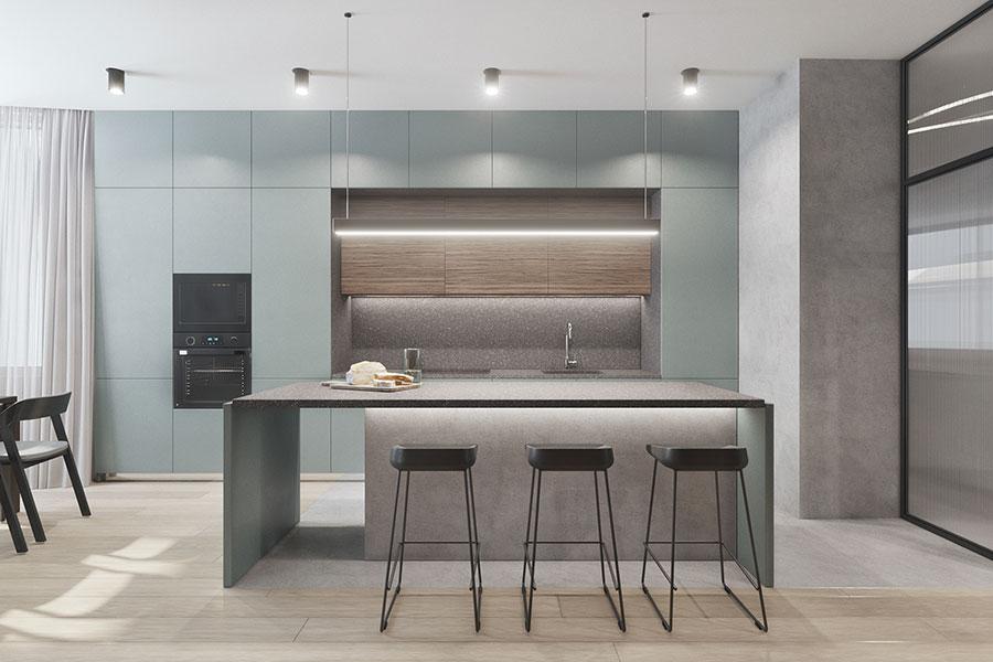 Progetto per una casa di 130 mq n.29