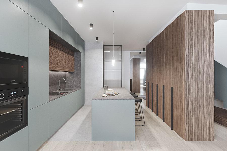Progetto per una casa di 130 mq n.30