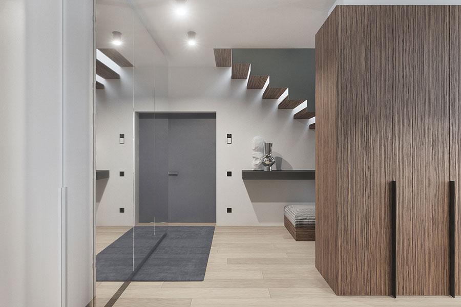 Progetto per una casa di 130 mq n.31