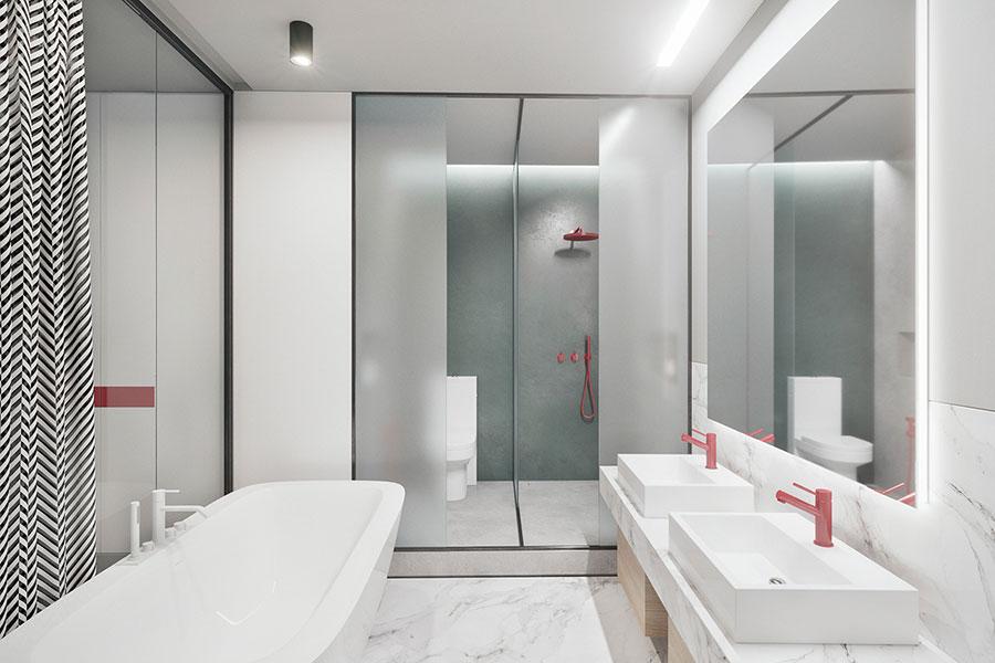 Progetto per una casa di 130 mq n.33