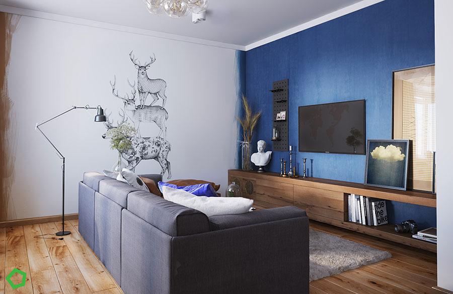 Progetto per una casa di 130 mq n.37